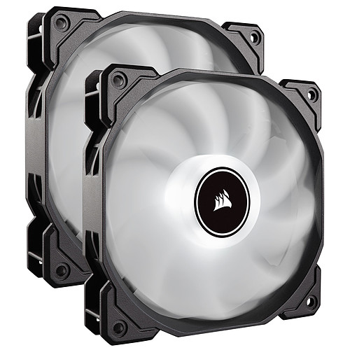 Corsair Air Series AF140 Low Noise - Blanc (par 2) pas cher