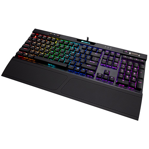 Corsair Gaming K70 RGB MK.2 Low Profile (Cherry MX LP Speed) pas cher
