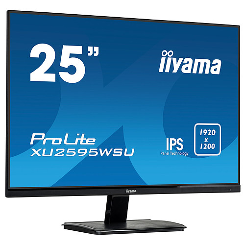"iiyama 25"" LED - ProLite XU2595WSU-B1 pas cher"