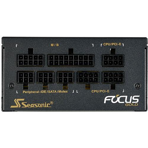 Seasonic Focus SGX-650 80PLUS Gold pas cher