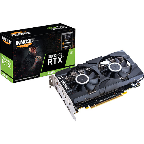 INNO3D GeForce RTX 2060 TWIN X2 pas cher