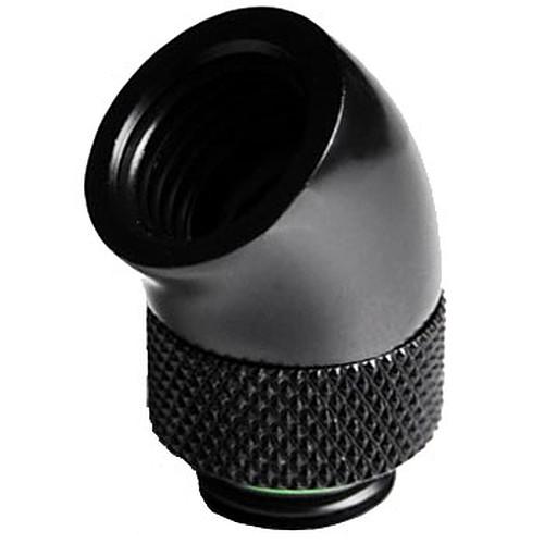 Barrow Embout à 45° rotatif pour tube de 12mm - Noir pas cher