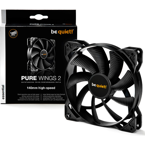 be quiet! Pure Wings 2 140mm High-Speed pas cher