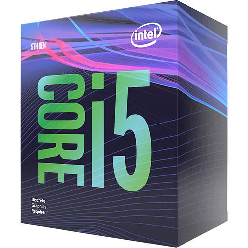 Intel Core i5-9500F (3.0 GHz / 4.4 GHz) pas cher