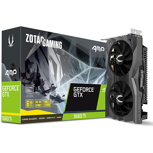 ZOTAC GeForce GTX 1660 Ti AMP pas cher