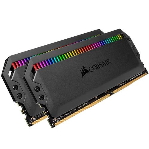 Corsair Dominator Platinum RGB 32 Go (2x 16Go) DDR4 3200 MHz CL16 pas cher