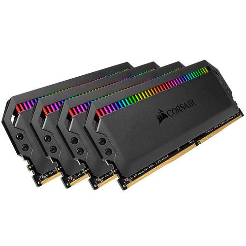 Corsair Dominator Platinum RGB 32 Go (4x 8Go) DDR4 3000 MHz CL15 pas cher