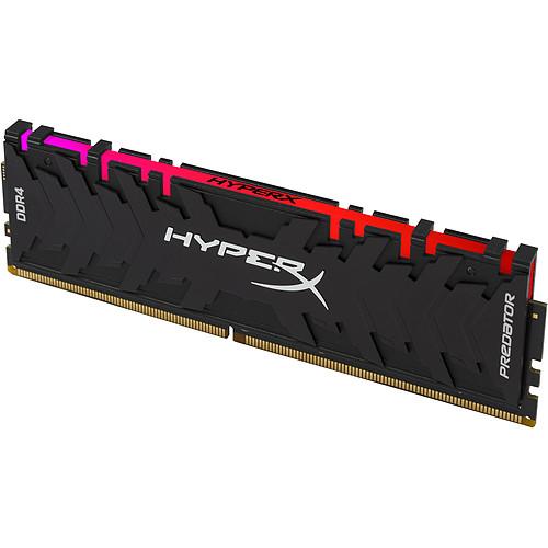 HyperX Predator RGB 64 Go (4x 16 Go) DDR4 3000 MHz CL15 pas cher