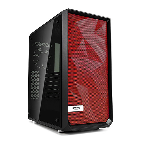 Fractal Design Color Mesh Panel pour Meshify C (Rouge) pas cher