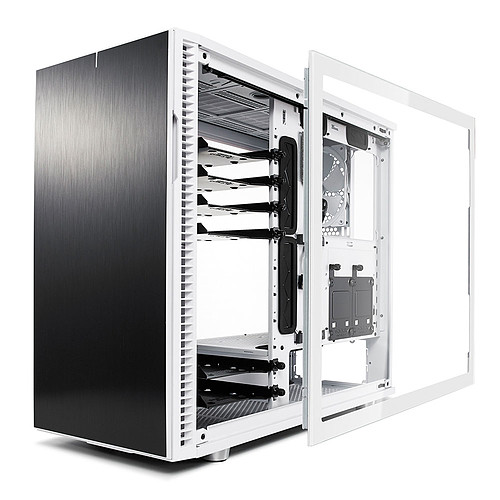 Fractal Design Define R6 TG Panneau latéral - Blanc pas cher