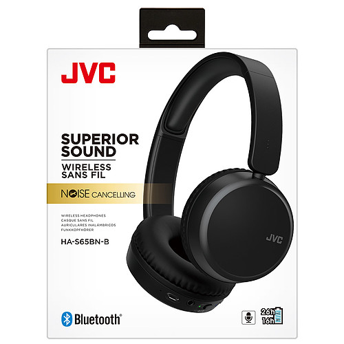 JVC HA-S65BN Noir pas cher