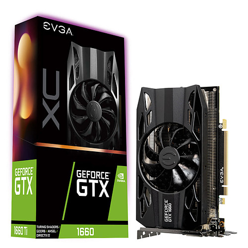 EVGA GeForce GTX 1660 XC GAMING pas cher