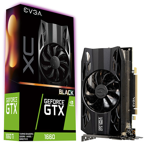 EVGA GeForce GTX 1660 XC BLACK GAMING pas cher