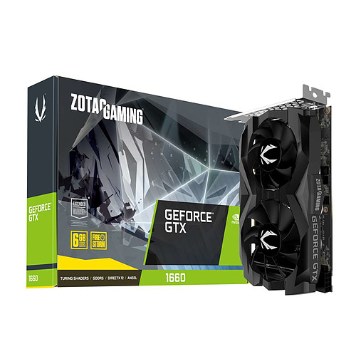ZOTAC GeForce GTX 1660 Twin Fan pas cher