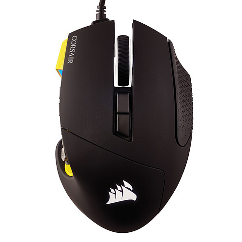 Corsair Gaming Scimitar Pro RGB (jaune) pas cher