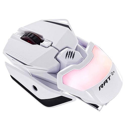 Mad Catz R.A.T. 2+ (RAT 2+) Blanc pas cher