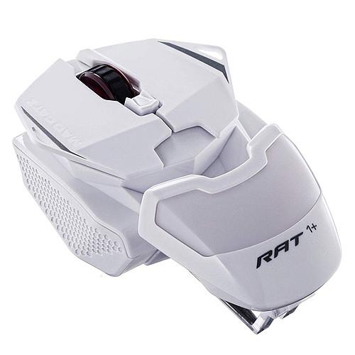 Mad Catz R.A.T. 1+ (RAT 1+) Blanc pas cher