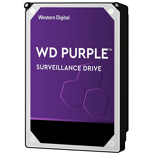 Western Digital WD Purple Surveillance Hard Drive 12 To SATA 6Gb/s pas cher