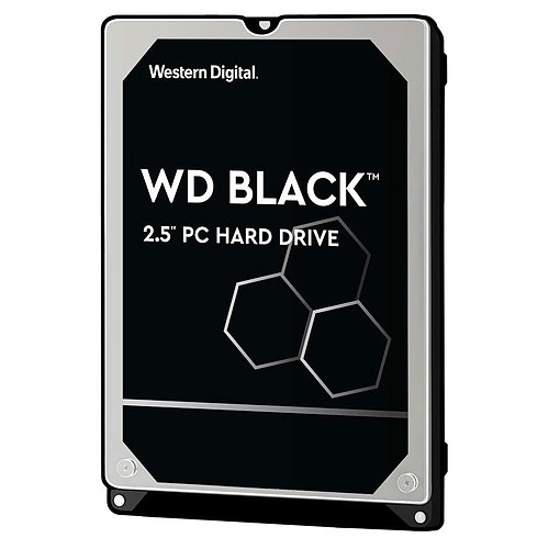 Western Digital WD Black Mobile 1 To pas cher