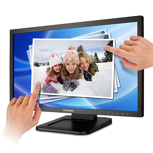 "ViewSonic 22"" LED Tactile - TD2220-2 pas cher"