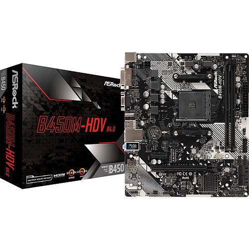 ASRock B450M-HDV R4.0 pas cher
