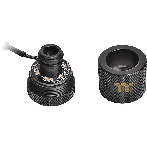 Thermaltake Pacific RGB PLUS TT Premium Edition G1/4 PETG Tube 16mm OD 12mm ID Fitting (x6) pas cher