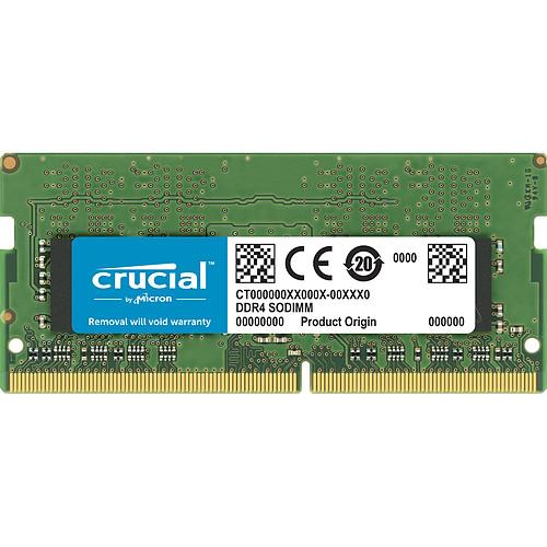 Crucial SO-DIMM DDR4 4 Go 3200 MHz CL22 SR X16 pas cher