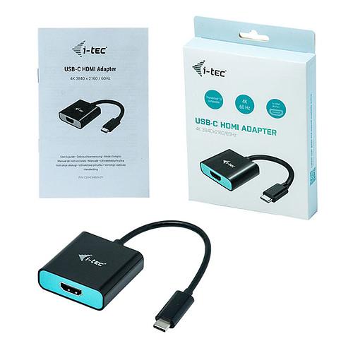 i-tec Adaptateur USB-C vers HDMI pas cher