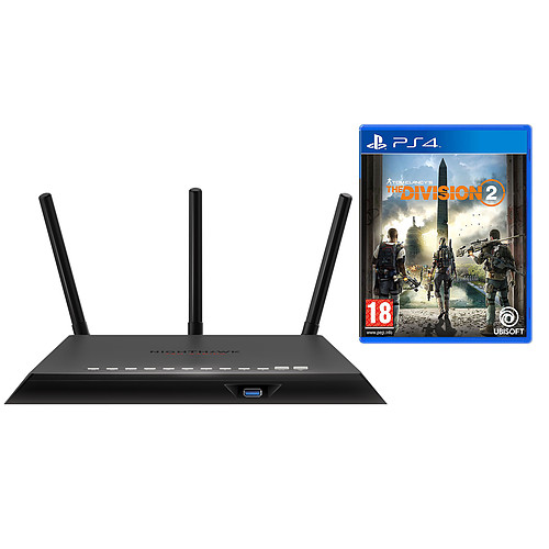 Netgear Nighthawk Pro Gaming XR300 + The Division 2 (PS4) pas cher