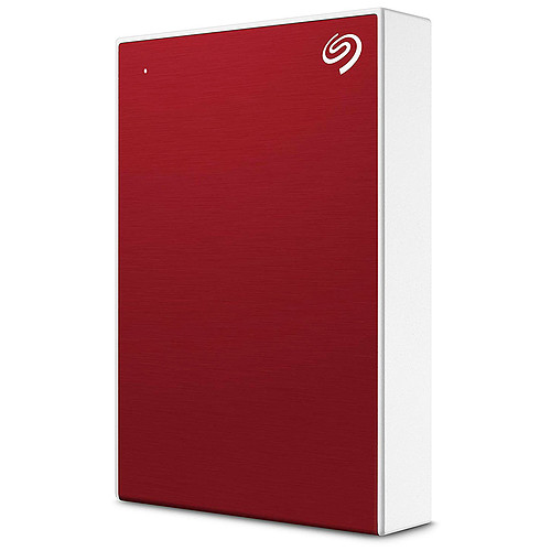 Seagate Backup Plus Portable 5 To Rouge (USB 3.0) pas cher