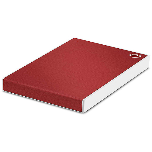 Seagate Backup Plus Slim 1 To Rouge (USB 3.0) pas cher