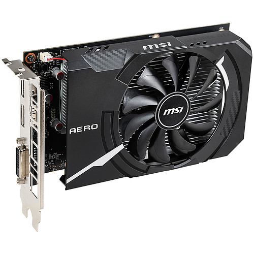 MSI GeForce GTX 1650 AERO ITX 4G OC pas cher