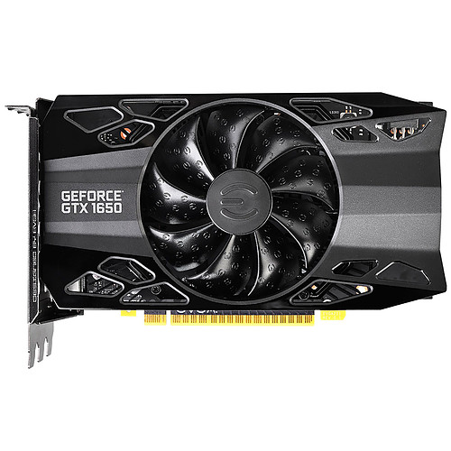EVGA GeForce GTX 1650 XC Black pas cher