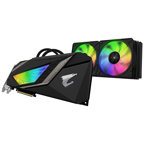 Gigabyte AORUS GeForce RTX 2080 XTREME WATERFORCE 8G pas cher