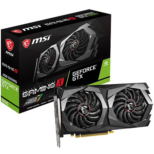 MSI GeForce GTX 1650 GAMING X 4G pas cher