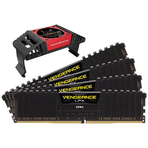 Corsair Vengeance LPX Series Low Profile 32 Go (4x 8 Go) DDR4 4000 MHz CL19 pas cher