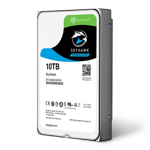 Seagate SkyHawk 10 To pas cher