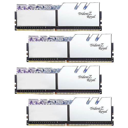 G.Skill Trident Z Royal 64 Go (8 x 8 Go) DDR4 3200 MHz CL16 - Argent pas cher