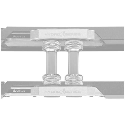 Corsair Hydro X Series XT Tuyau rigide SLI/CrossFire- Transparent (x 6) pas cher