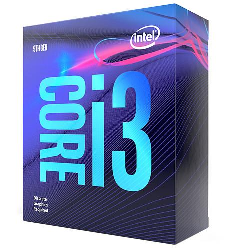 Intel Core i3-9100F (3.6 GHz / 4.2 GHz) pas cher