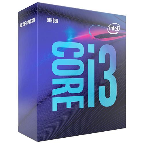 Intel Core i3-9100 (3.6 GHz / 4.2 GHz) pas cher