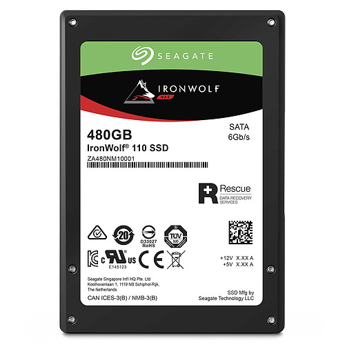 Seagate SSD IronWolf 110 480 Go pas cher