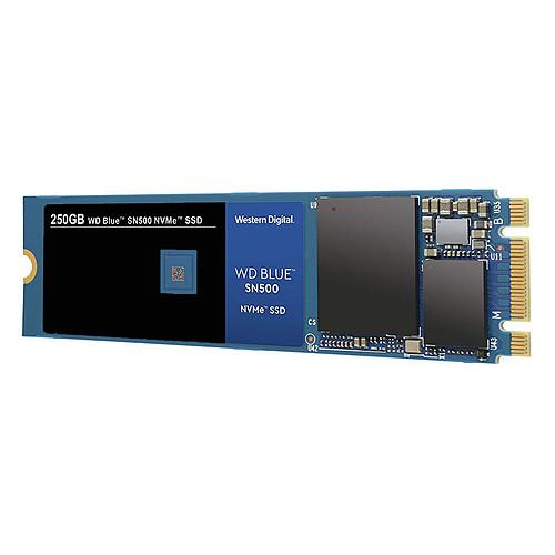 Western Digital SSD WD Blue SN500 250 Go pas cher