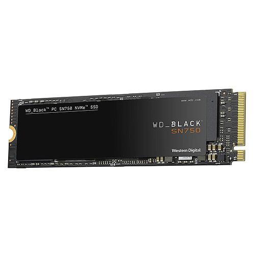 Western Digital SSD WD Black SN750 500 Go pas cher