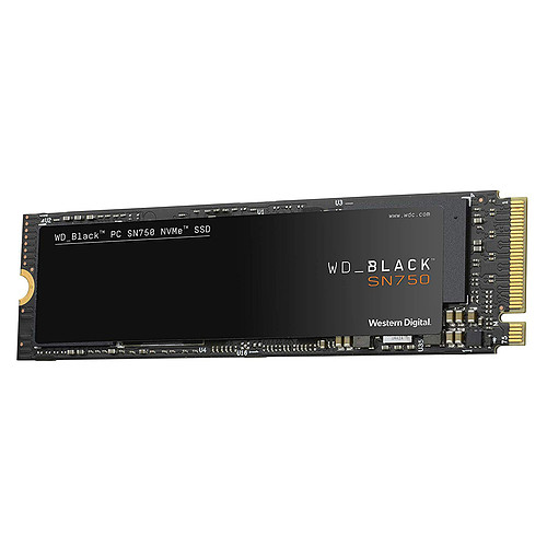 Western Digital SSD WD Black SN750 2 To pas cher