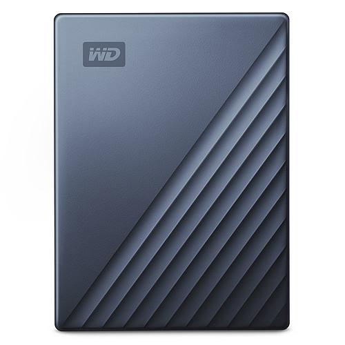 WD My Passport Ultra 4 To Bleu (USB 3.0/USB-C) pas cher