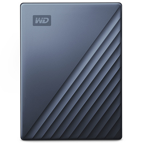 WD My Passport Ultra 2 To Bleu (USB 3.0/USB-C) pas cher