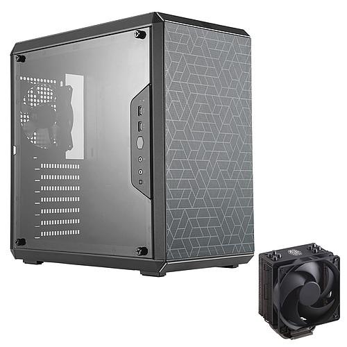 Cooler Master MasterBox Q500L + Hyper 212 Black Edition pas cher
