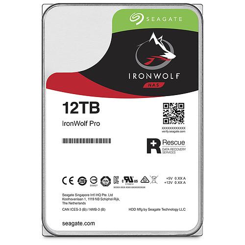 Seagate IronWolf Pro 12 To (ST12000NE0008) pas cher