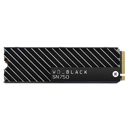 Western Digital SSD WD Black SN750 EK 2 To pas cher